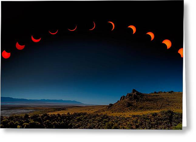 Eclipse Pano Greeting Card