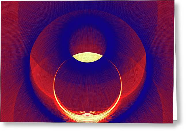 Eclipse Greeting Card by Ray Shrewsberry