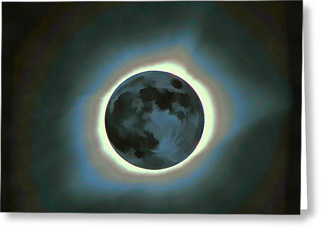 Eclipse Totality Greeting Card