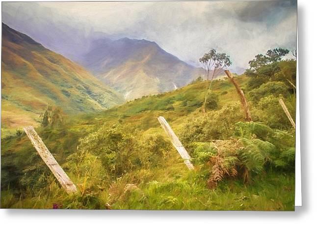 Ecuadorian Mountain Forest Greeting Card