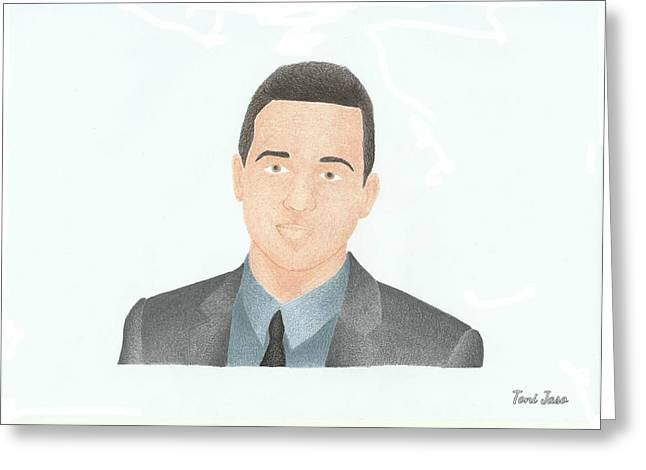 Eddie Kaye Thomas Greeting Card