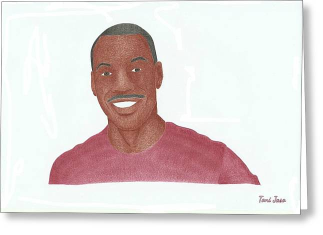 Eddie Murphy Greeting Card