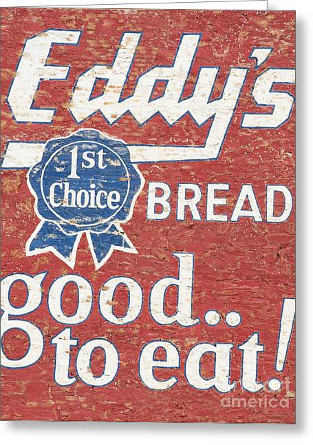 Eddy's Bread Greeting Card