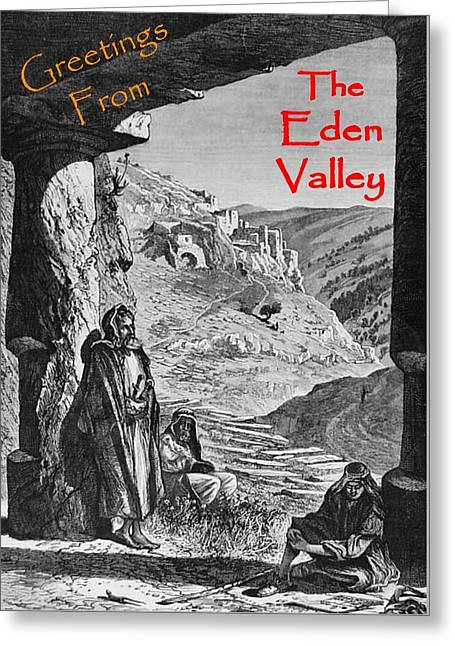 Eden Valley Greetings Greeting Card by Justin Farrimond