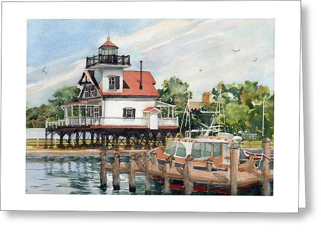 Edenton Sentinel Greeting Card