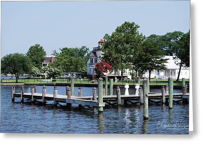Edenton Waterfront Greeting Card