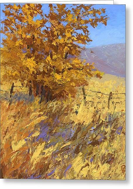 Edge Of Autumn Greeting Card