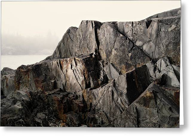 Greeting Card featuring the photograph Edge Of Pukaskwa by Doug Gibbons