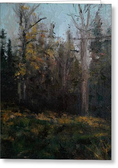 Edge Of The Woods #1 Greeting Card by Brian Kardell