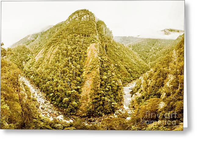 Edge Of Wilderness Greeting Card
