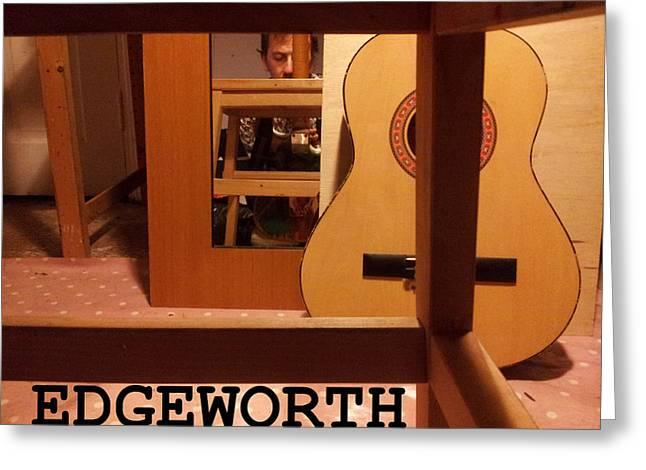 Edgeworth Acoustic Guitar Greeting Card
