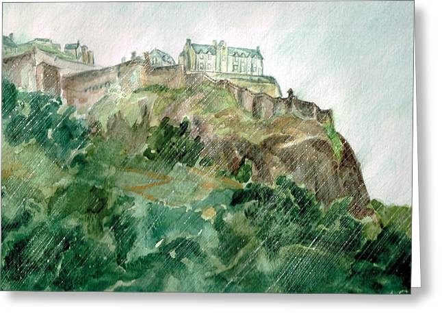 Edinburgh Castle Greeting Card