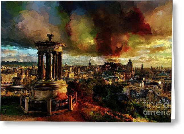 Edinburgh Scotland 01 Greeting Card