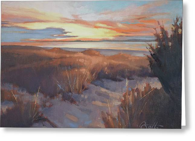 Edisto In December Greeting Card by Todd Baxter