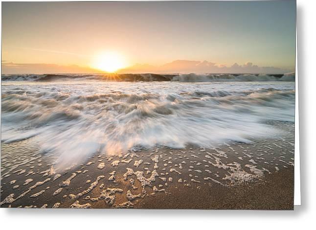 Edisto Island Sunrise Greeting Card by Serge Skiba