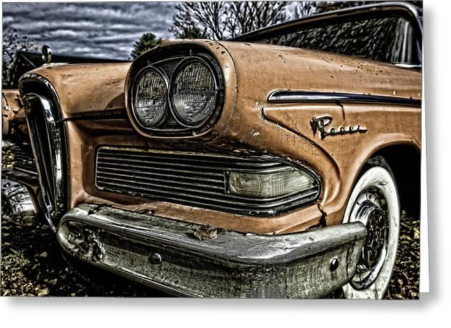 Edsel Ford's Namesake Greeting Card