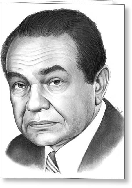 Edward G. Robinson Greeting Card