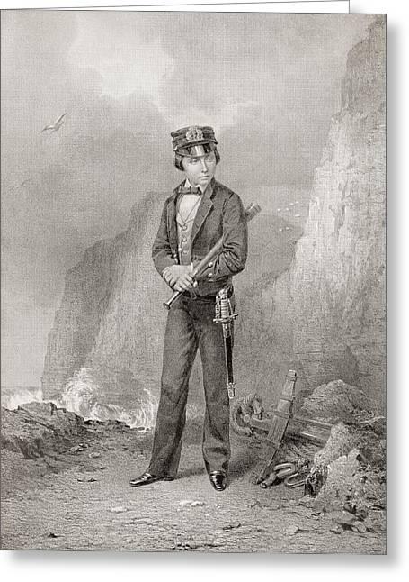 Edward Vii , 1841 Greeting Card by Vintage Design Pics