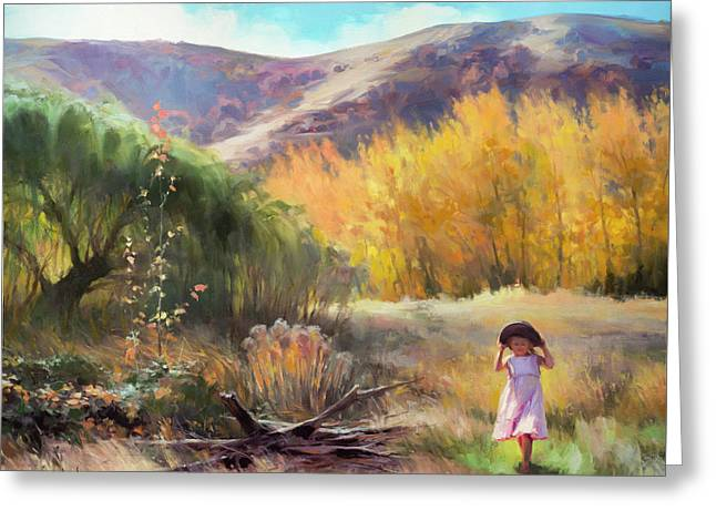 Greeting Card featuring the photograph Effervescence by Steve Henderson