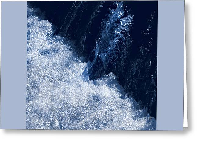 Effervescent 1. Greeting Card by Paul Davenport