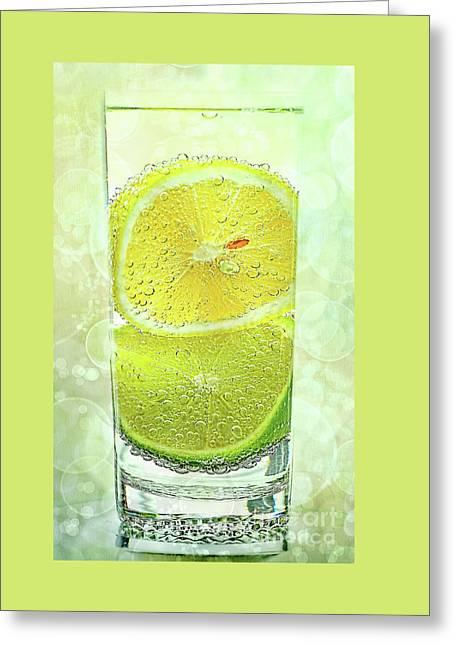 Effervescent Freshness By Kaye Menner Greeting Card by Kaye Menner