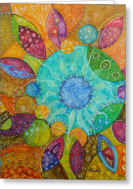 Effervescent Greeting Card by Tanielle Childers