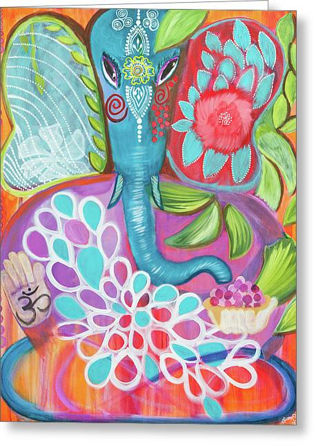 Effortless Ganesha Greeting Card
