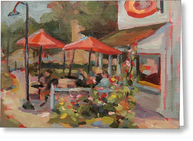 Egg Harbor Greeting Card by Jenny Anderson