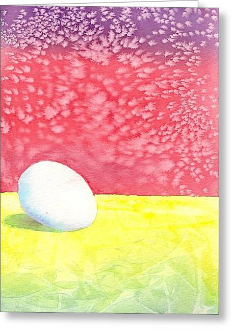 Egg Greeting Card