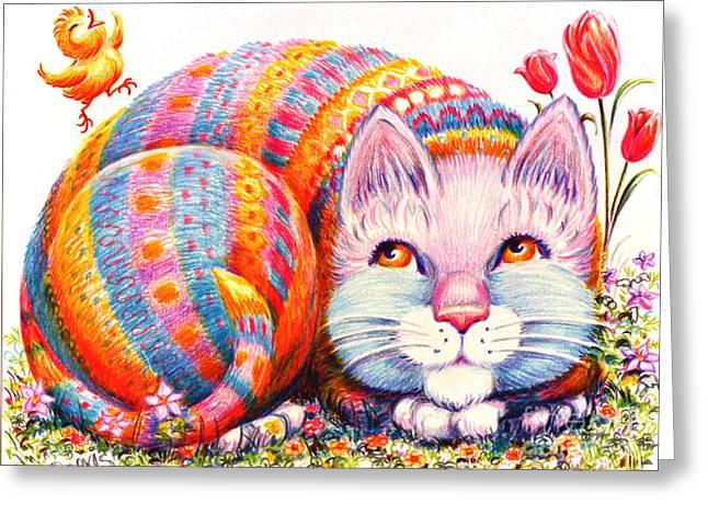 Eggbert Greeting Card
