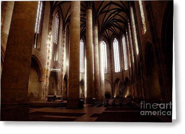 Eglise Des Jacobins, Toulouse Greeting Card