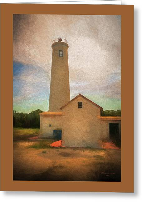 Egmont Key Greeting Card by Marvin Spates