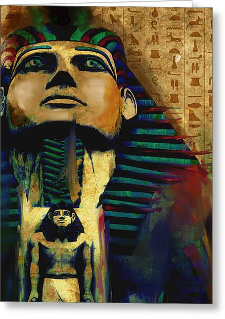 Egypt 156 3  Greeting Card by Mawra Tahreem