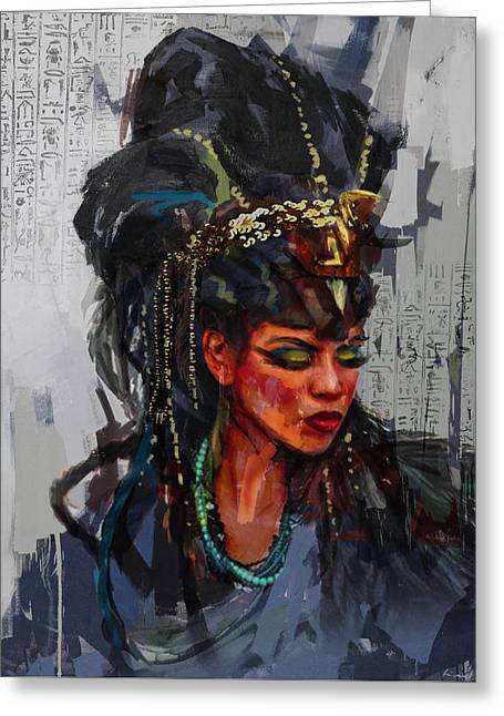 Egyptian Culture 26b Greeting Card