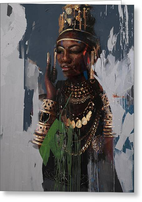 Egyptian Culture 31 Greeting Card by Maryam Mughal