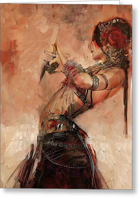 Egyptian Culture 40 Greeting Card