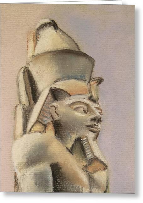 Egyptian Study Greeting Card