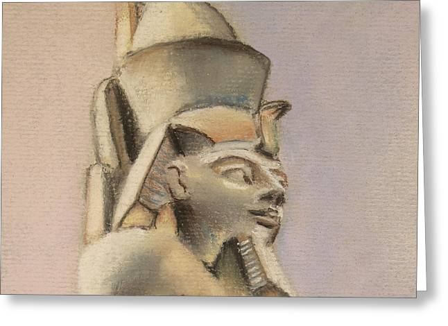 Egyptian Study Greeting Card