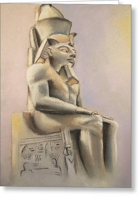 Egyptian Study II Greeting Card