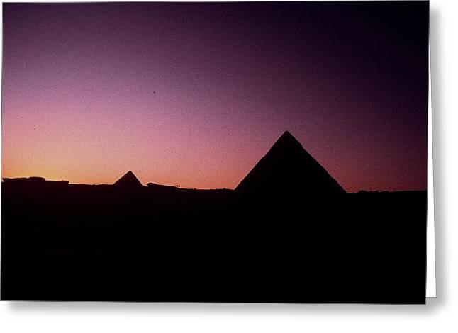 Egyptian Sunset Greeting Card