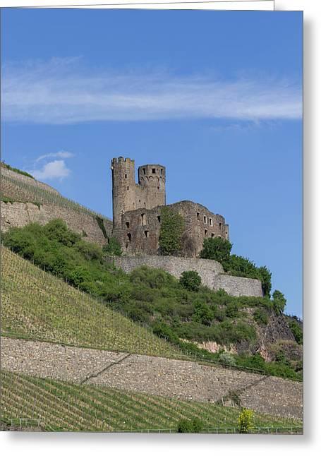 Ehrenfels Castle 07 Greeting Card