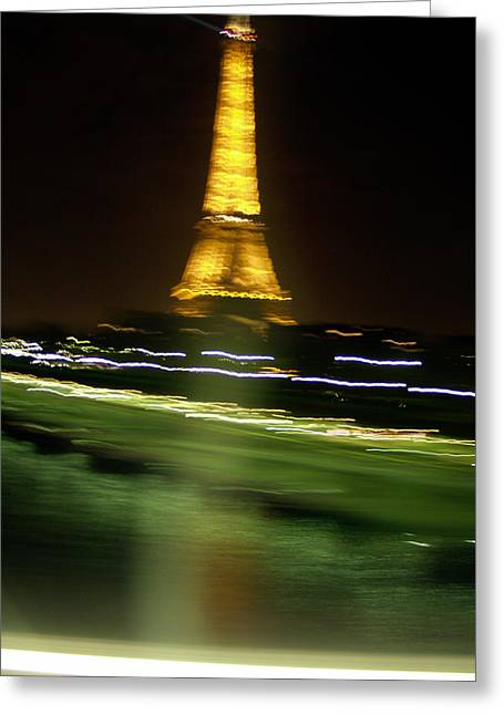 Eiffel Moves Greeting Card