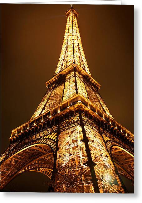 Eiffel Greeting Card by Skip Hunt