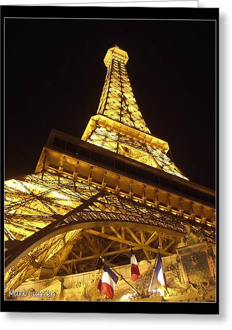 Eiffel Tall Greeting Card