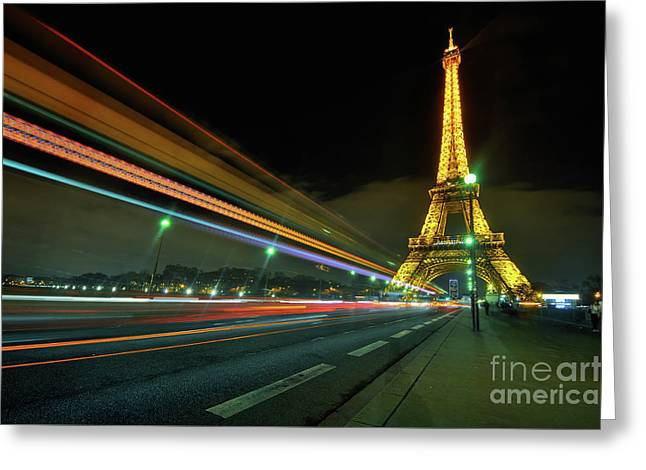 Eiffel Tower 2.0 Greeting Card