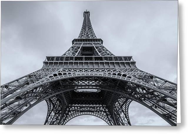 Eiffel Tower 3 Greeting Card