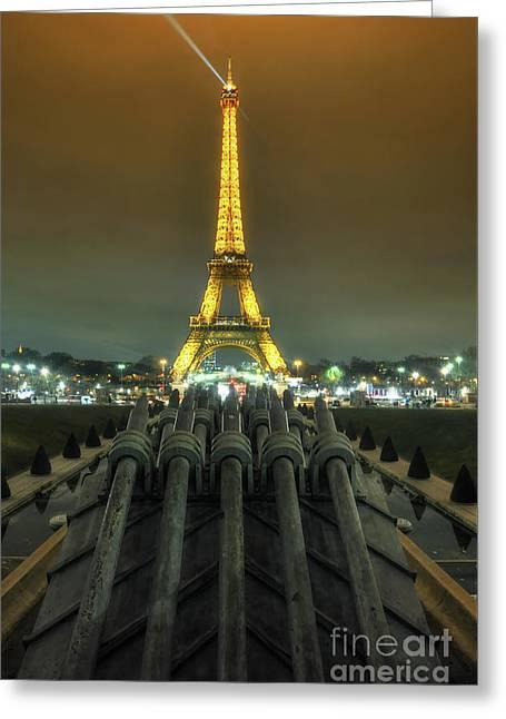 Eiffel Tower 3.0 Greeting Card