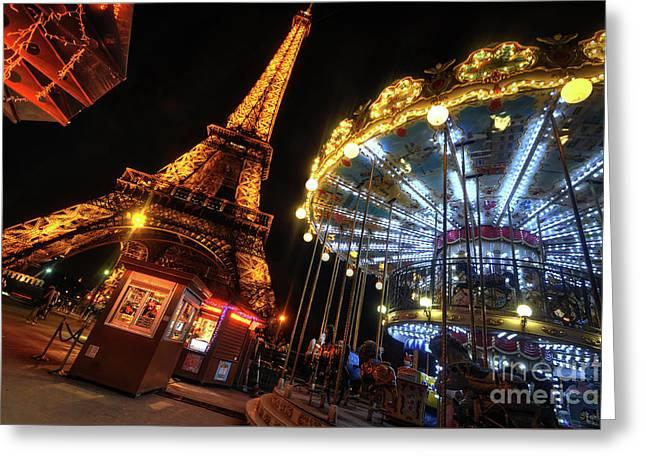 Eiffel Tower 4.0 Greeting Card