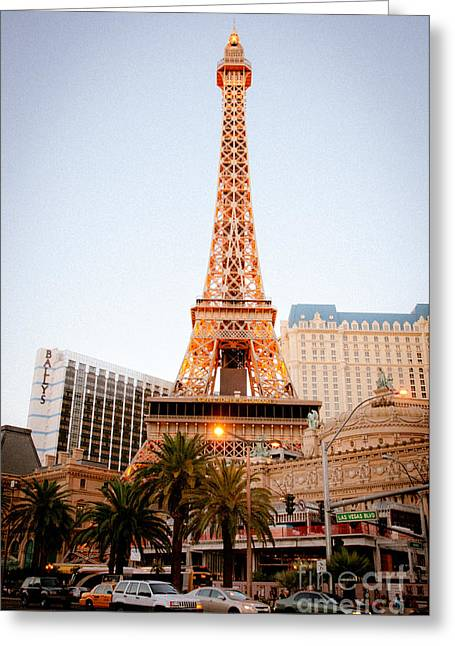 Eiffel Tower Nevada Greeting Card
