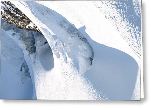 Eiger Greeting Card by Randall Slinkard